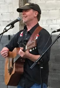 Guy Smith performing in Asheville, NC 2019